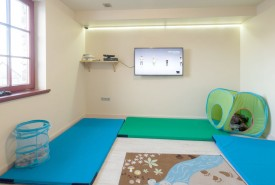 Play room with x-box